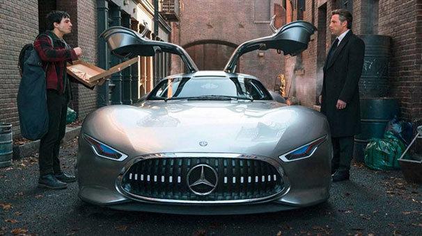 Mercedes, Batman'e sponsor oldu! İşte Bruce Wayne'in yeni oyuncağı: AMG Vision GT